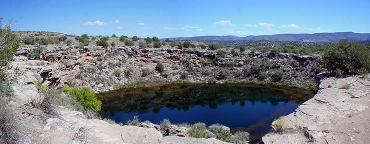 Montezuma well Arizona