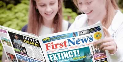 Newspaper kids tour during summer break